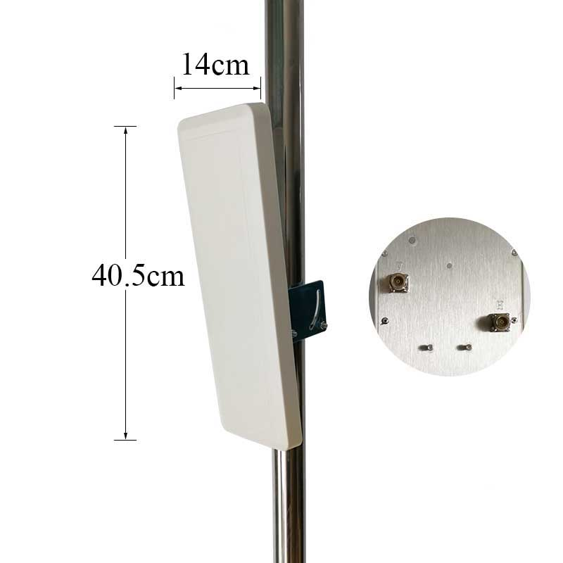 Wifi Antenna 30dBi 2.4g Antenna Indoor Ourdoor Dual Polarization Wall Mount Patch Panel Flat Antenna High Quality Factory Price