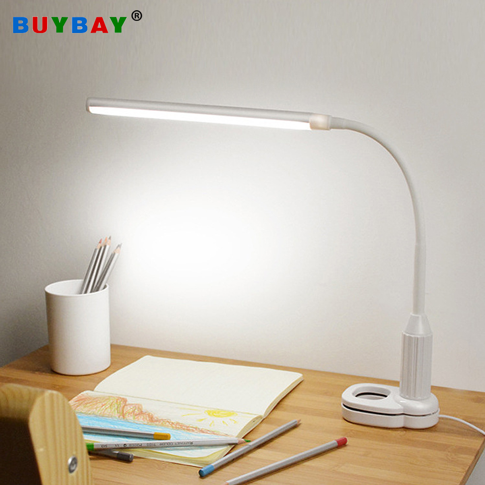 New 5w 24leds Clamp Clip Table Lamp Eye