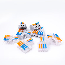 5/10/30Pcs Quick Wire Connector SPL type 42/62 Cable Connector Push-in Universal Splitter Wiring Conductor Terminal Block