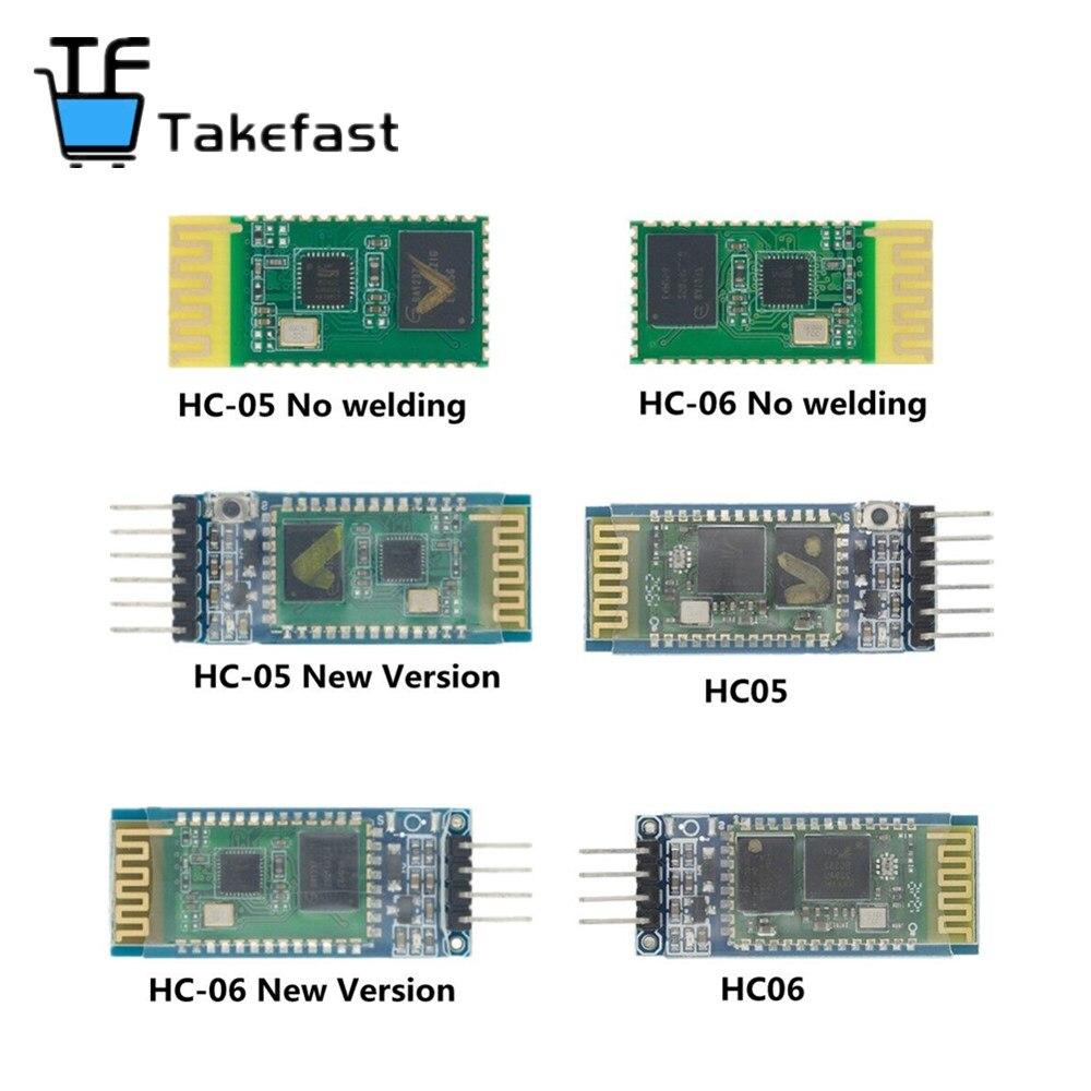 1pcs HC05 HC-05/HC-06 JY-MCU anti-reverse, integrated Bluetooth serial pass-through module, HC-05 HC-06 master-slave 6pin/4pin