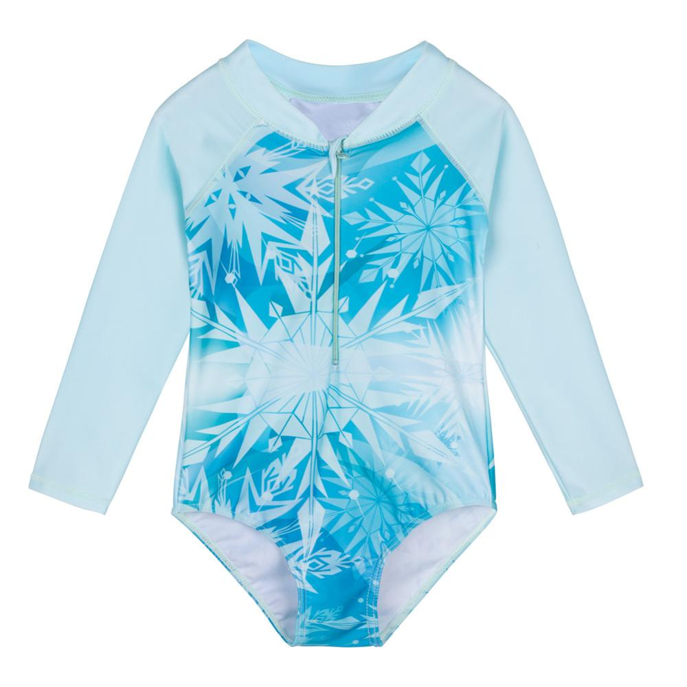 Purple,18-24Months Baby Girls Sunsuit UPF 50 Sun Protection One Pieces Long Sleeves Swimwear with Bucket Hat