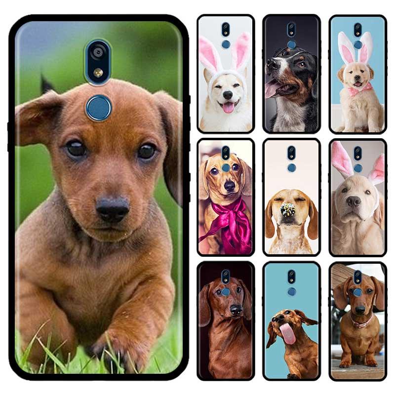Dachshund Dog Pug Case For LG G6 G7 G8 Thinq K40 K40s Q51 Q60 Q61 Q70 K41s K50s K51s K61 Tpu Phone Carcasa Capas
