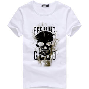 Shirt Blouse Tees Short-Sleeve Streetwear Harajuku Printing Plus-Size Casual New-Fashion