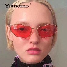 2020 modne okulary przeciwsłoneczne bez oprawek kobiety Retro unikalny kształt chmury Steampunk okulary przeciwsłoneczne damskie Gafas Shade UV400 óculos Feminin tanie tanio YUMOMO WOMEN Dzieci ALLOY 40mm Z poliwęglanu GV3564 61mm
