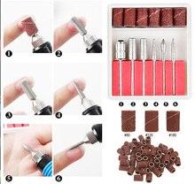 6 Pcs Drill Bit Set Professional For Pro Manicure Machine Nail Bits Mills Kit Pedicure Sanding Band #3