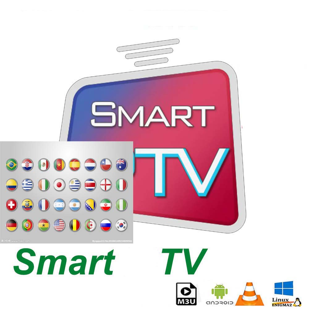 Global TV Subscription 14 Months 2 Devices 3 Devices 2 Connect 3 Connect  HD TV Support Android M3U Smart TV Series
