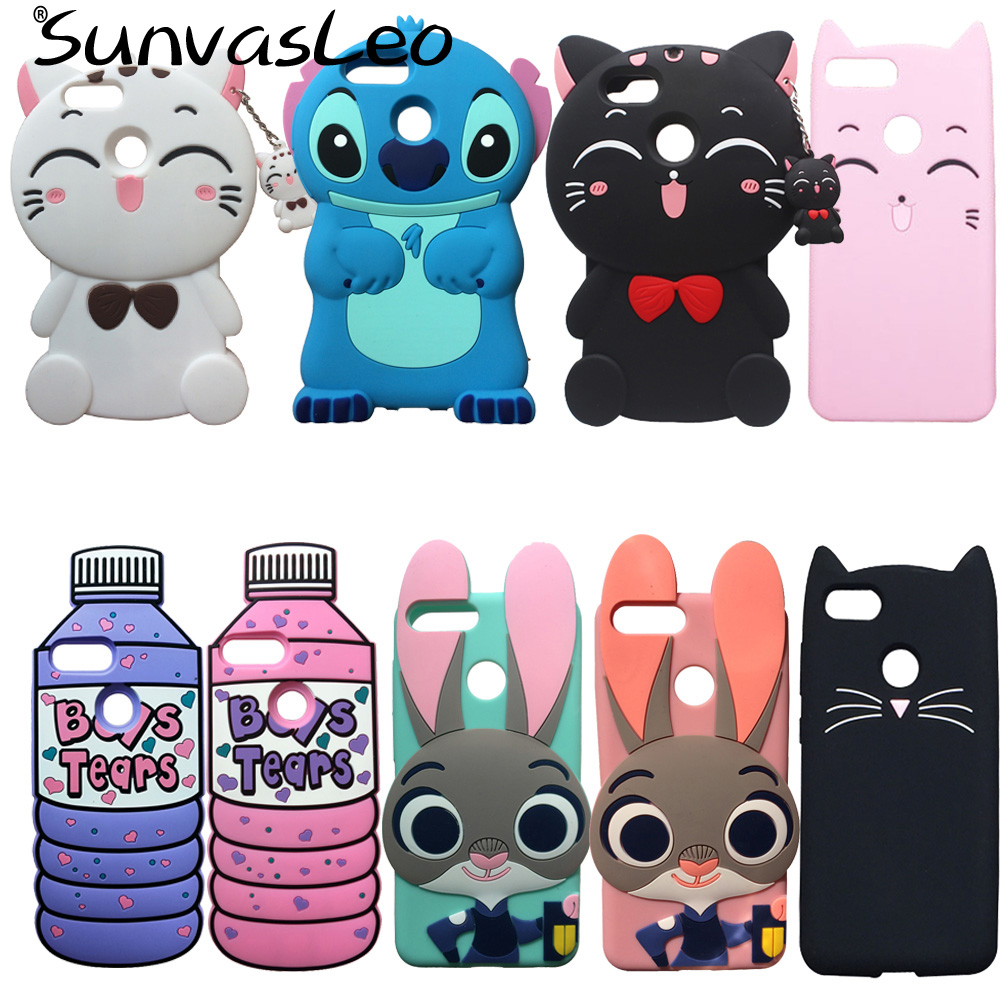 For Huawei Honor 7X 5 93 quot 3D Soft Silicone Case Phone Back Cover Cartoon Unicorn Fundas Coque Skin Shell For Huawei Mate SE L24 in Fitted Cases from Cellphones amp Telecommunications