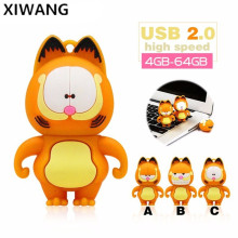 USB Flash Drive Cartoon Flash Memory Stick 4GB 8GB 16GB Pen Drive 32GB 64GB Pendrive Usb Stick 128GB Waterproof Cle Usb U Disk недорого