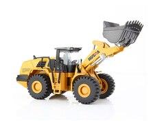 DODOELEPHANT 1:50 Alloy Truck Excavator Auto Truck Explosive Hammer Diecasting Christmas Gift Toy Children Excavator