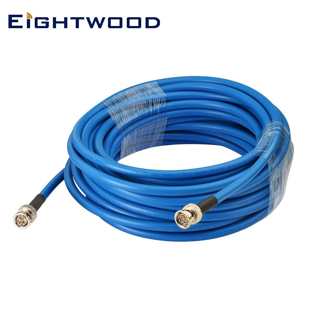 Nintwood-câble SDI HD 30ft BNC | Mâle à BNC 3G 6G (Belden 1694A) pour caméscopes et moniteur professionnels Sony, BlackMagic Red One