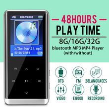 32GB bluetooth MP3 Player Earphones HiFi fm Radio mini USB mp3 Sports MP 4 HiFi Portable Music Players Voice Recording Recorder цена и фото