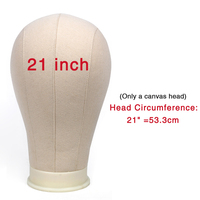 21inches only head