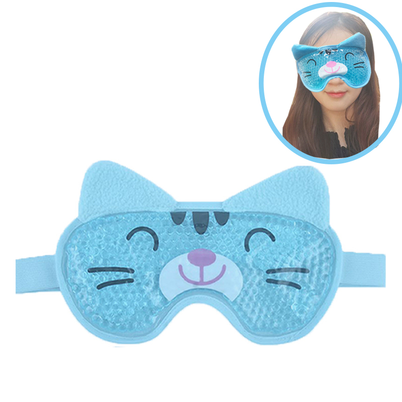 Gel Eye Mask, Hangover Mask Hot Or Cold Premium Reusable Gel Mask, Helps To Sooth Puffy Faces, Headaches Sleep Eye Mask