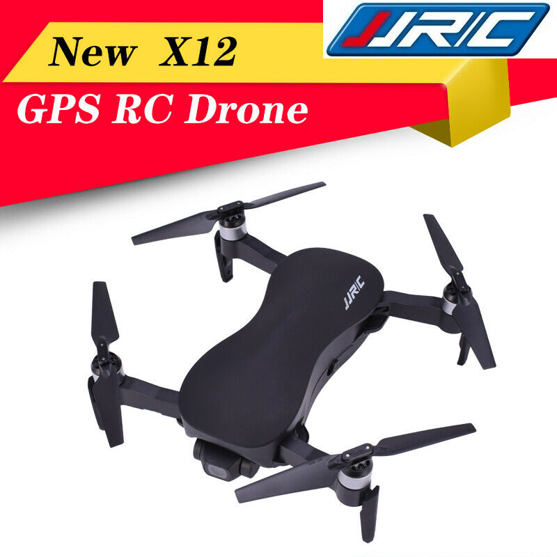 JJR/C X12 GPS Drone 5G WiFi FPV Brushless Motor 4K HD Camera GPS Dual Mode Positioning Foldable RC Drone Quadcopter RTF Camera Drones     - title=