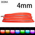DC 12V 24V Super Thin 4mm Color COB LED Strip Lights for Bedroom Decor Car PC Case 480LEDs Blue/Pink/Red LED Ribbon Tape 12 Volt