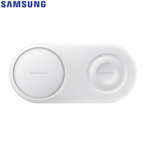 Image 4 - Fast QI Wireless Charger Dual Pad EP P5200 For Samsung Galaxy Note8 Note9 Watch Gear S2 Huawei Mate20 Pro Xiaomi 9 Iphone XR Max