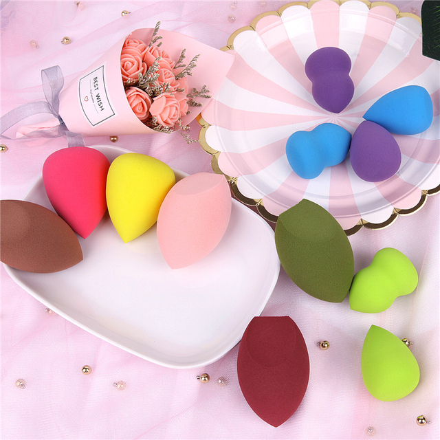 2019 Hot Sales 20 Styles Cosmetic Puff Powder Puff Smooth Women's Makeup Foundation Sponge Beauty to Make Up Tools Accessories 1