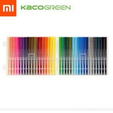 # الشحن السريع # KACO مزدوجة الرأس المائية القلم مجموعة لرسم الكتابة شاومي الملونة القلم 36 ألوان
