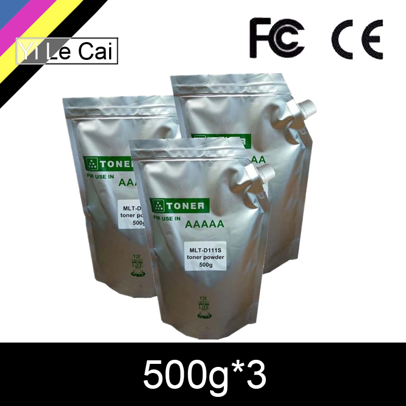 Toner-Powder Refill Samsung D111S Compatible For 500g--3 2070 2074FW HTL 2071
