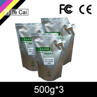 HTL 500G*3 D111S 111s refill toner powder compatible for Samsung M 2020 2020W 2022 2022W 2070 2070W 2070F 2071 2074FW