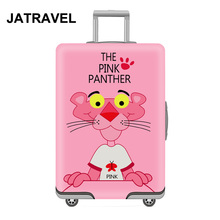 JATRAVEL Cartoon Travel Luggage Protective Cover Suitcase Case Accessorie Elastic Apply to 18-32