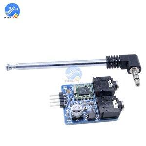 Image 5 - TEA5767 FM Stereo moduł radiowy 76 108MHZ z anteną odwrotna polaryzacja ochrony diody filtrowania czujnik Retro Radio moduł DIY