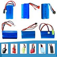 7.4 V 1500 Mah Lipo Batterij Met Usb-oplader Voor FT009 Rc Boot 12428 Batterij Lipo 2S 7.4 V 1500 Mah 18650 2S Jst Sm T Plug