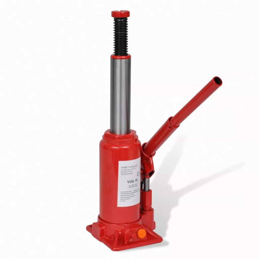 New VidaXL 5T Capacity Car Lift Hydraulic Jack Automotive Lifter Vehicle Bottle Jack Repair Tool Portable Hydraulic Bottle Jack