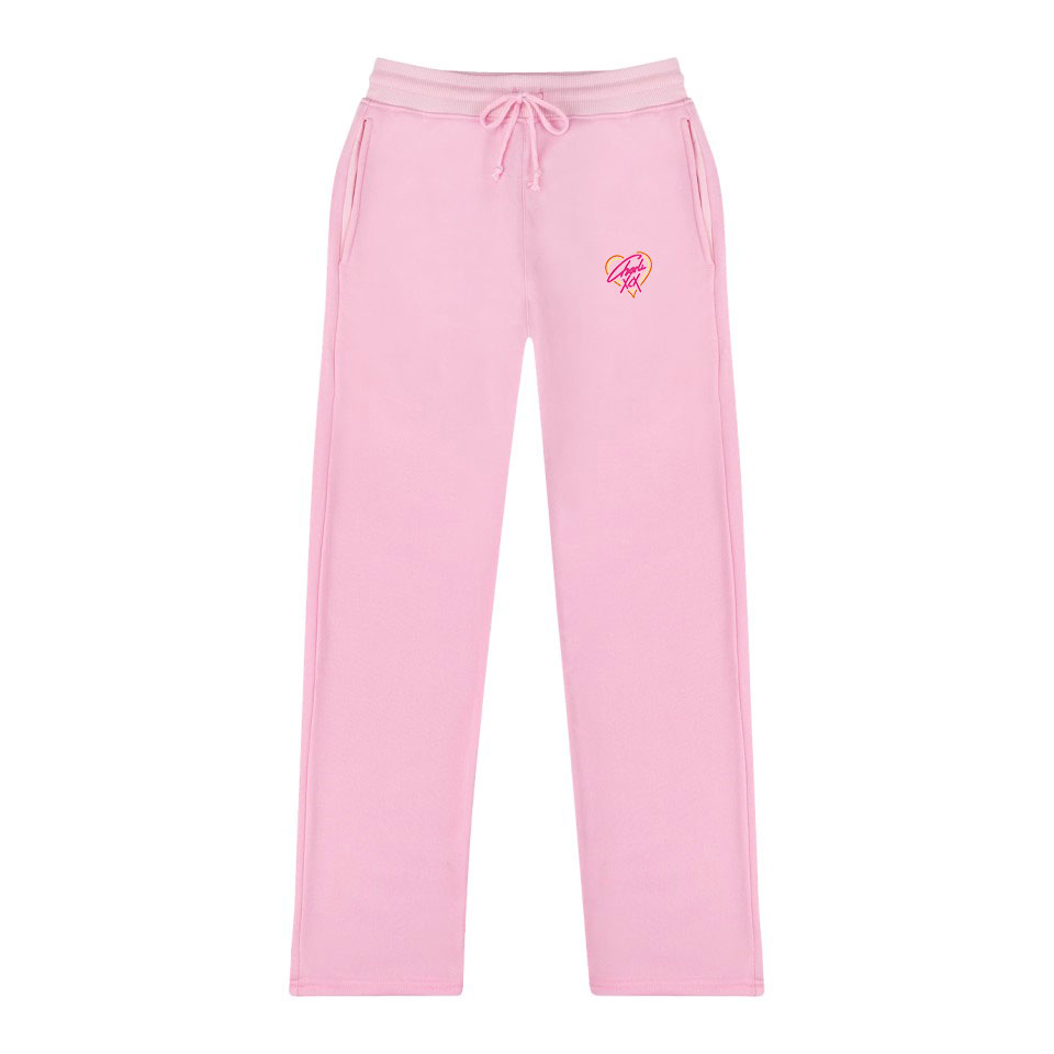 Charli XCX Cotton High Quality Pants Men/women Casual Trousers New Hot Charli XCX Sweatpants Jogger Slim Kpop Pink Pants