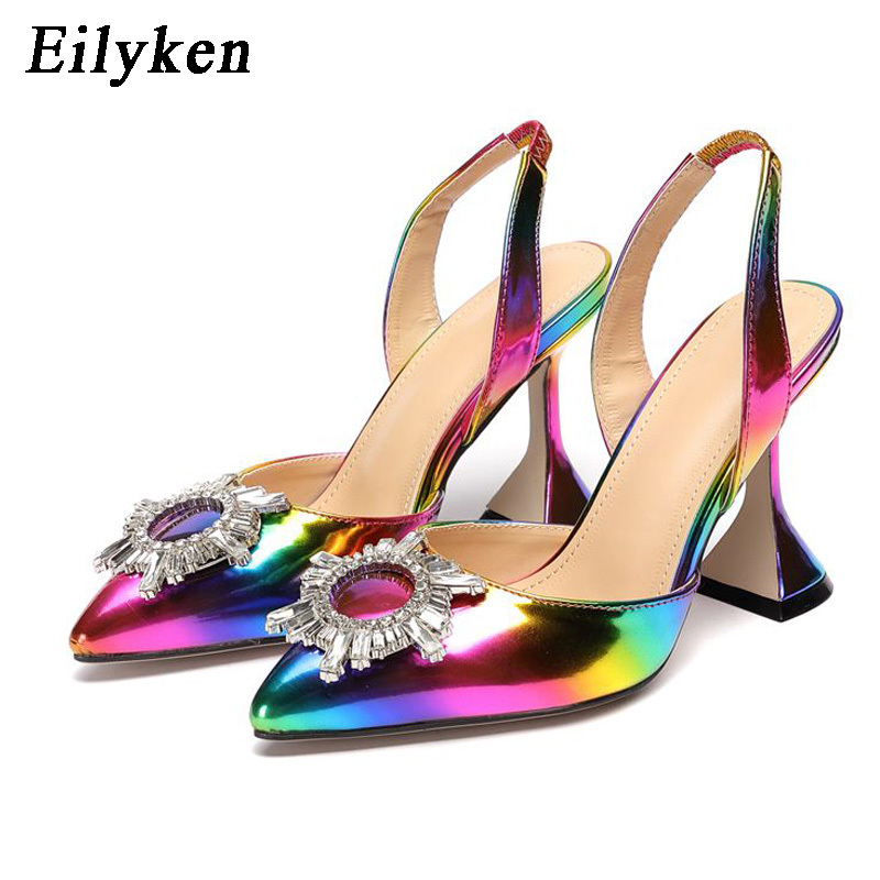 Eilyken Rainbow Color Women Sandals