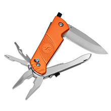 Outdoor Camping Survival Supplies Multi-function Knife And Pliers Glass Impactor Folding  Pocket Hunting
