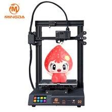 цена на EU country free shipping 230x230x260mm MINGDA D2 3D Printer Touch Screen 3D Print with proximal extruder  3D Printer Kit