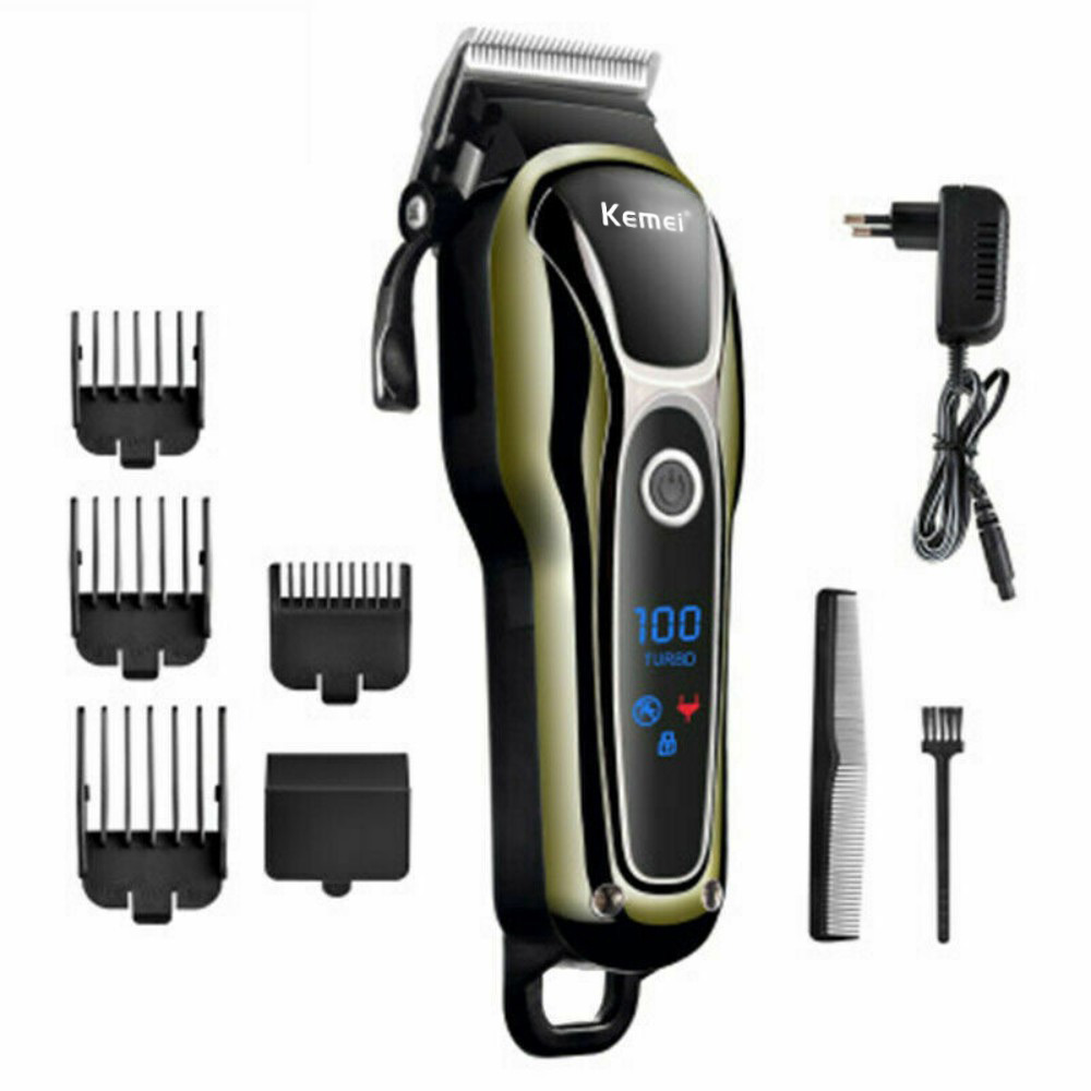 Professional Hair Clippers Men's  Barber Set Mains Trimmer Shaver Washable Rechargeable Electric Shaver Electric Shaving Beard