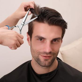 Nożyczki do cieniowania włosów ścinanie włosów nożyczki narzędzia fryzjerskie nożyce do włosów nożyczki fryzjerskie profesjonalne nożyczki fryzjerskie tanie i dobre opinie BEEYEAH 7 5 cal STAINLESS STEEL CN (pochodzenie) Nożyczki do włosów