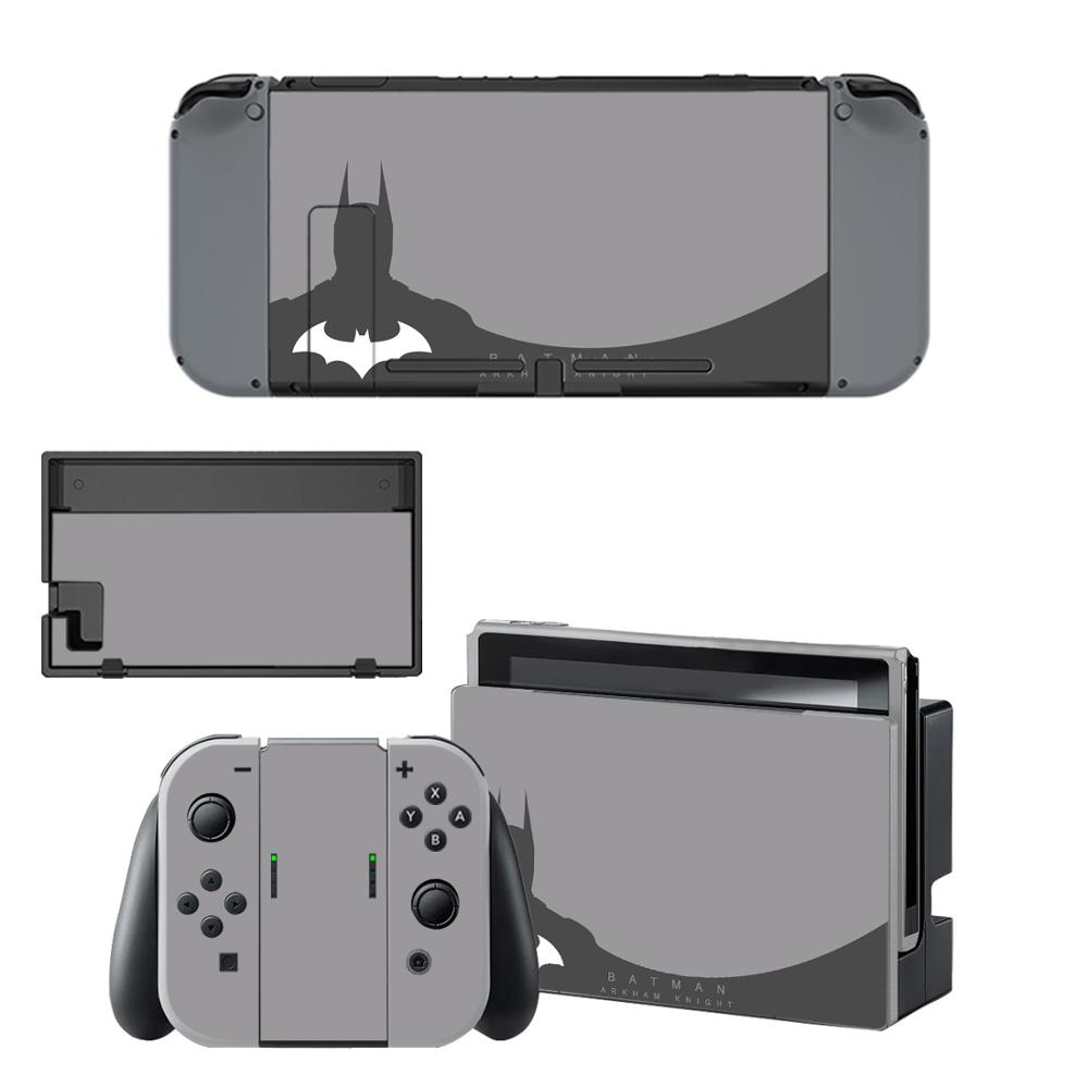 Batman Nintendoswitch Skin Nintend Switch Stickers Decal Cover For Nintendo Switch Console Joy-con Controller Dock Skins Sticker