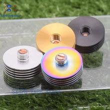 цены на sub two510 Drip Tip Adaptor Heat Sink Metal 22mm 24mm 25mm for 510 Thread RDA RTA RDTA Atomizer E Cigarettes Vape Accessories в интернет-магазинах