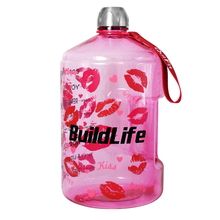 BuildLife 1 Gallon Water Bottle More Design With Time Marker