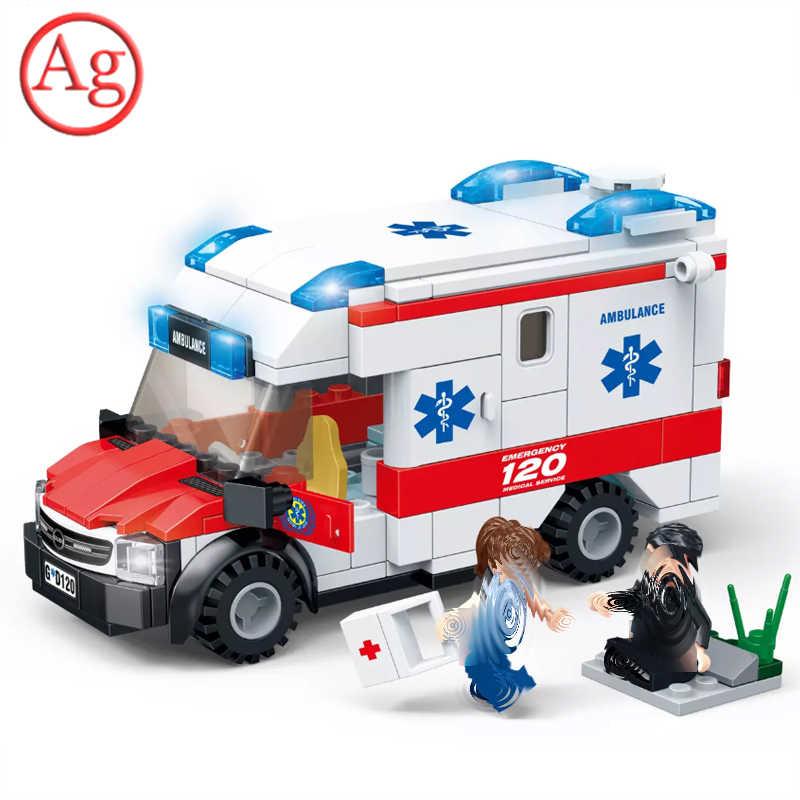 Şehir uyumlu şehir itfaiyeci ambulans uzay savaşçısı pembe kamyon yapı taşı SWAT polis İstasyonu zırhlı MOC tuğla oyuncaklar