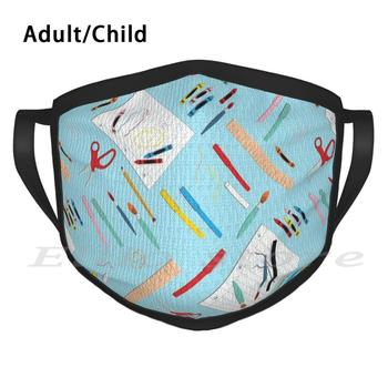 Back To School 2020 Adult Kids Anti Dust DIY Scarf Mask School Teacher Students Friends Homeschool Coop Public Charter Private image