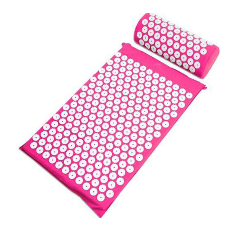 Relaxing Acupressure Massage Mat with Pillow set for Stress Pain and Tension releasing 3