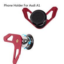 Suporte do carro magnético para o telefone para audi a1 gravidade clipe de ventilação ar montagem celular móvel suporte smartphone gps suporte universal