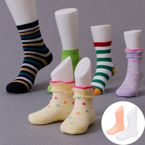 Children Foot Display Mold Socks Shoes Mannequin Modeling Feet Short Stocking Home DIY Supplies Accessories(China)
