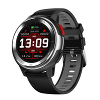 DT NO.1 DT68 Full Touch Wristband 20 Dial Face Change ECG Heart Rate Monitor Music Sport Alarm bluetooth Waterproof Smart Watch
