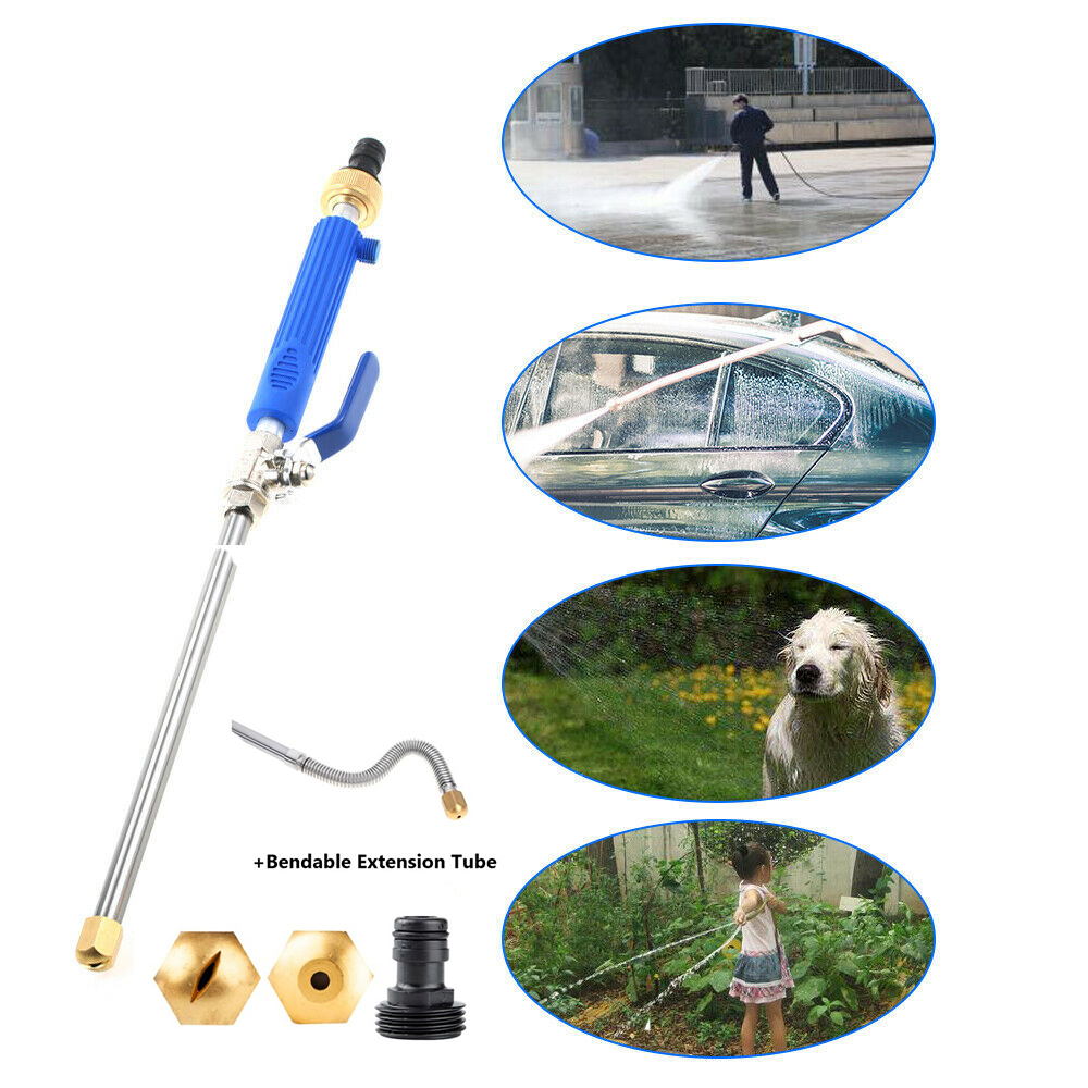 High Pressure Water Gun Metal Water Gun High Pressure Power Car Washer Spray Car Washing Water Jet Pressure Washer Garden Tools