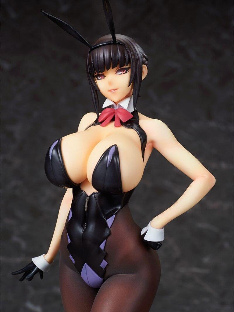 Q-Six Ban! Фигура из ПВХ оригинальный персонаж Erika Izayoi, фигура аниме, модель игрушки, привлекательная девушка, Мягкая грудь, фигурка, коллекционн...