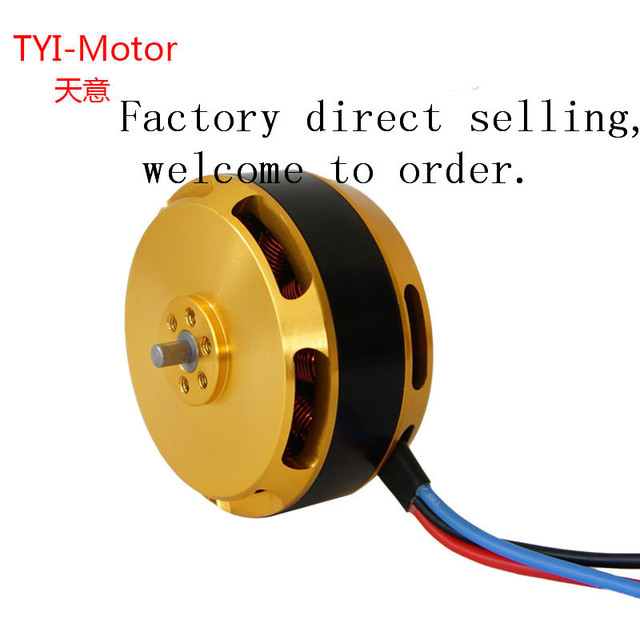 1/4pcs 5010 340kv/280kv Brushless Outrunner Motor Agriculture Protection Drone Accessories for Sale