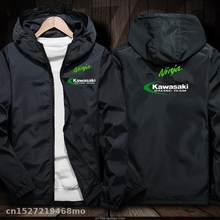 2020 Motocross Racing Team Jas Waterdicht Winddicht Jas Motorrijden Hooded Rits Windbreake Racing Pak(China)