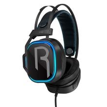 Led-Light Microphone Pc Wired-Gaming-Headset Computer-Gamer Deep-Bass-Earphones Super-Hifi