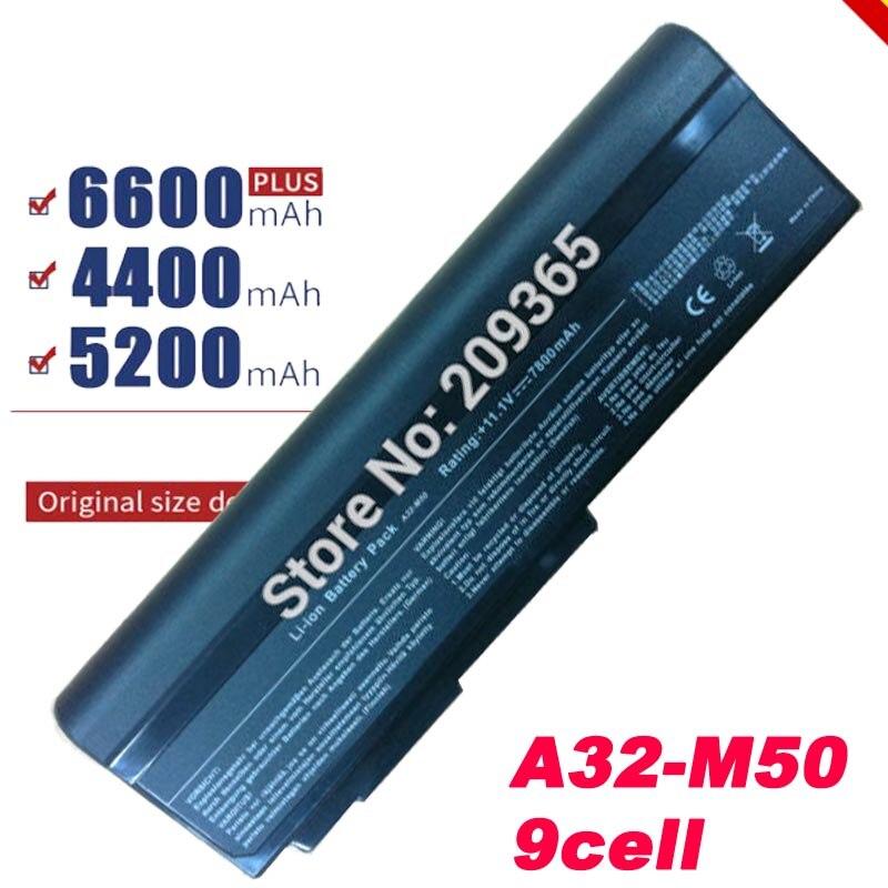 9 ячеек A32 N61 Батарея для ASUS N61 N61J N61D N61V N61VG N61JA N61JV M50s N43S N43JF N43JQ N53 N53S N53SV A32 M50
