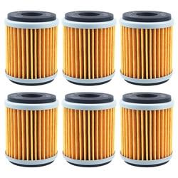 Cyleto Oil Filter For YAMAHA YZF R125 YBR250 YFM250 XT250 WR125R WR125X WR250R WR250X WR250F YZ250 YZ250F YZ450F WR450F YFZ450